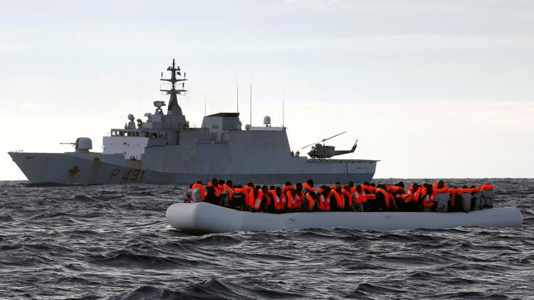 إنقاذ 278 مهاجرا قبالة ليبيا
