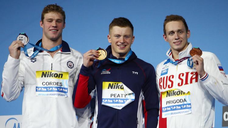 الروسي بريغودا ينال برونزية بطولة العالم للسباحة 2017