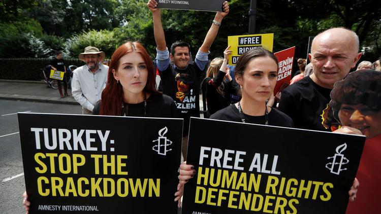 العفو الدولية تدعو أوروبا لإعادة النظر في العلاقات مع تركيا