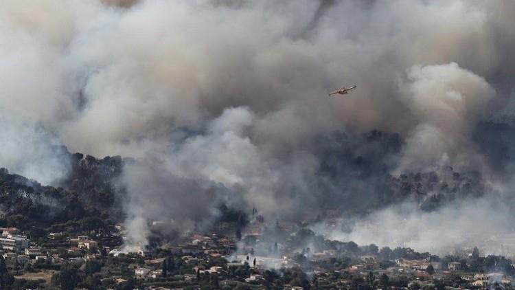 إجلاء 10 آلاف شخص مع اندلاع حريق جديد جنوب فرنسا