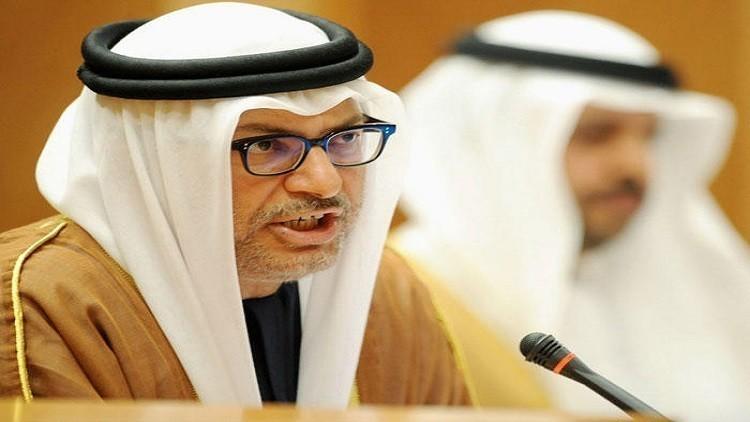 قرقاش: ينبغي علينا أن نمضي قدما من دون قطر