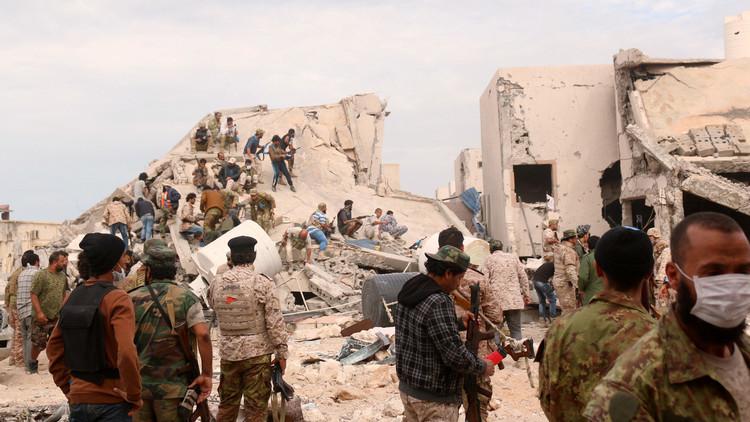 القوات الليبية تعمل على منع