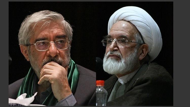 تدهور الحالة الصحية لزعيمي المعارضة في إيران