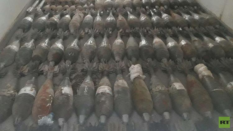 القوات العراقية تضبط كميات كبيرة من عتاد