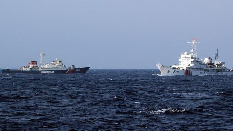 النفط يسمم أجواء بحر الصين الجنوبي