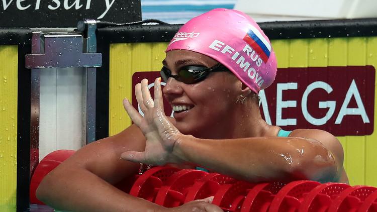 الروسية يفيموفا تحرز ذهبية سباق 200 م