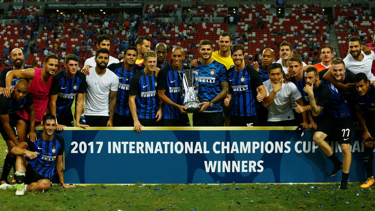 بالفيديو.. إنتر ميلان يعانق كأس الأبطال الدولية الودية في سنغافورة