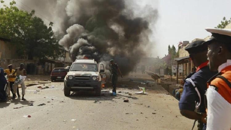 عشرات القتلى والمصابين في تفجير انتحاري شمال شرقي نيجيريا