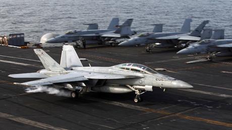 حاملة الطائرات الأمريكية جورج بوش (أرشيف)