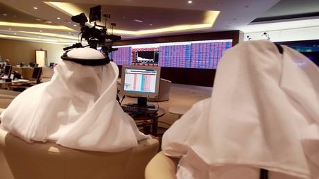 بورصة قطر تتلون بالأحمر عشية انتهاء المهلة الخليجية