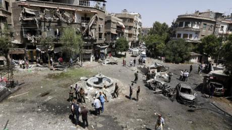 قتلى وجرحى بتفجيرات استهدفت دمشق