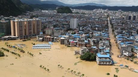 فيضانات منطقة قوانغشي الصينية