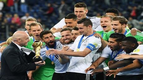 المنتخب الألماني يتوّج بكأس القارات 2017