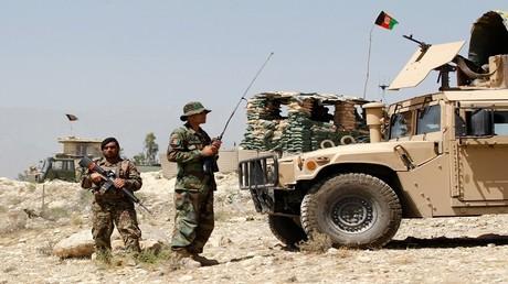 أرشيف - جنود من الجيش الأفغاني