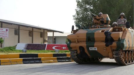 القاعدة العسكرية التركية في الدوحة