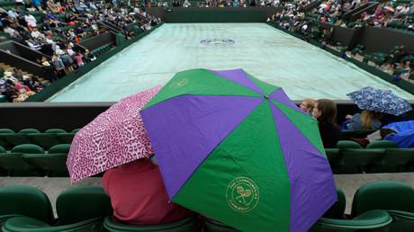 المطر يوقف مباريات اليوم الأول في ويمبلدون