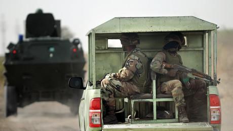 """الجيش النيجيري يعلن الانتصار على """"بوكو حرام"""" (صورة أرشيفية)"""