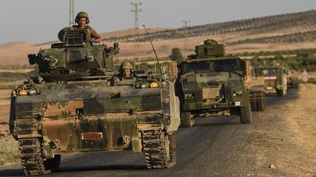 أرشيف - وحدات من الجيش التركي