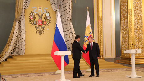 بوتين وجين بينغ