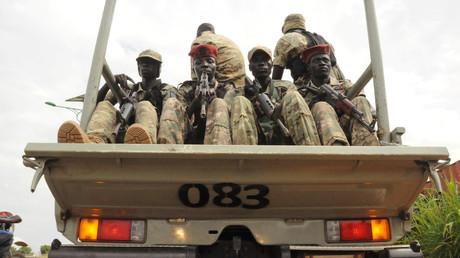 عناصر جيش جنوب السودان