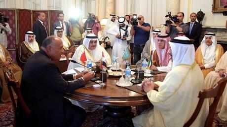 """اجتماع وزراء خارجية دول """"المقاطعة"""" بالقاهرة - 5 يوليو 2017"""