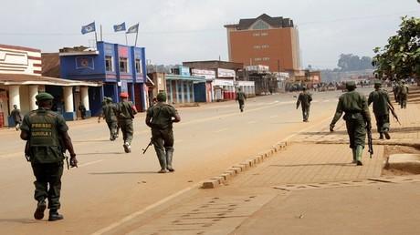 جنود في جمهورية كونغو الديمقراطية