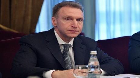 إيغور شوفالوف، نائب رئيس الوزراء الروسي