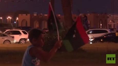 احتفالات أهالي بنغازي بتحرير مدينتهم