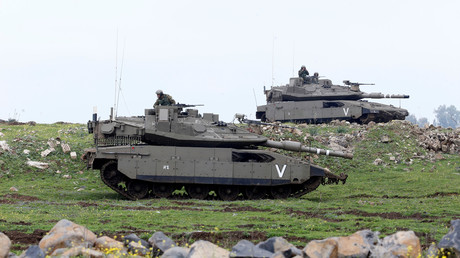 الجيش الإسرائيلي في الجولان المحتل