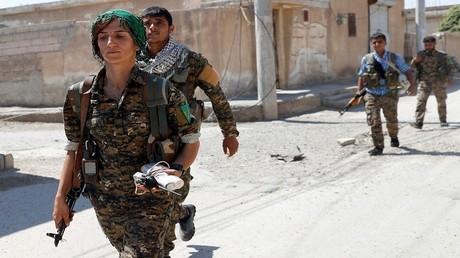 مقاتلون أكراد بشمال سوريا
