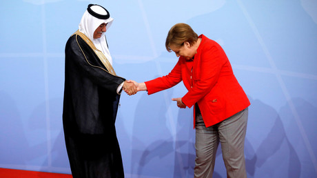 ميركل تستقبل ممثل السعودية في قمة العشرين