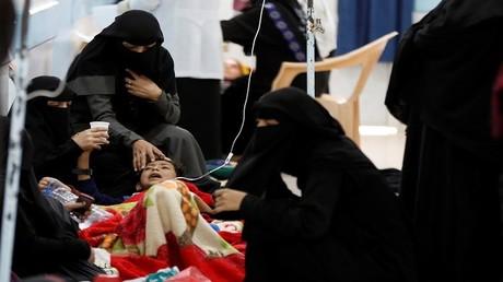 تفشي وباء الكوليرا في اليمن