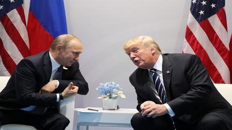 الرئيسان دونالد ترامب وفلاديمير بوتين