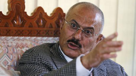 علي عبد الله صالح الرئيس اليمني السابق