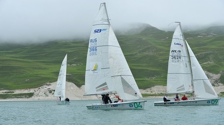 اختتام سباق القوارب الشراعية الأول في الشيشان