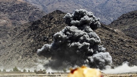 قصف جوي في افغانستان - ارشيف