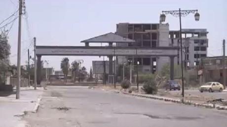 سريان وقف إطلاق النار جنوب غرب سوريا