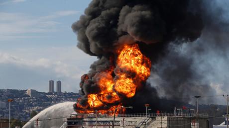 الحرائق في إسرائيل - أرشيف