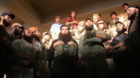 مسلحون من هيئة فتح الشام، النصرة سابقا في إدلب