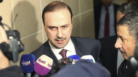 وزير الإعلام الناطق الرسمي باسم الحكومة محمد المومني