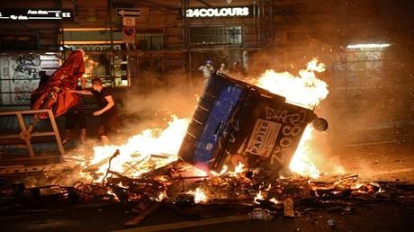 الاحتجاجات في هامبورغ خلال قمة مجموعة العشرين