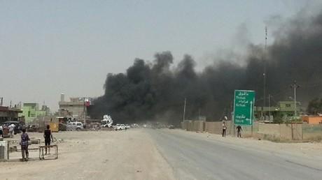 المعارك في محافظة نينوى شمال العراق
