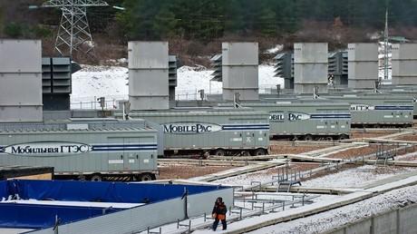 محطات غاز لتوليد الطاقة الكهربائية في القرم