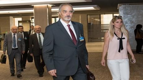 رئيس وفد سوريا إلى جنيف بشار الجعفري
