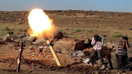 مسلحون في سوريا - أرشيف -