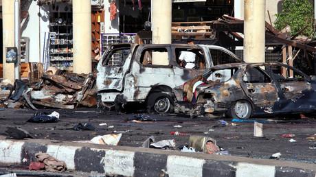مكان أحد تفجيرات شرم الشيخ (2005)