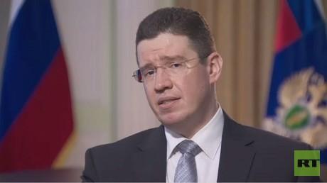 دينيس غرونيس، رئيس قسم المساعدة القانونية الدولية في مكتب المدعي العام الروسي
