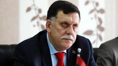 رئيس حكومة الوفاق الوطني الليبية فايز السراج
