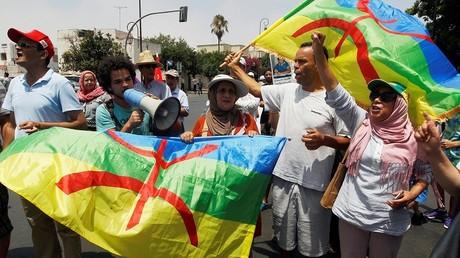 """المغرب.. مسيرة احتجاجية بالعاصمة تضامنا مع """"حراك الريف"""""""