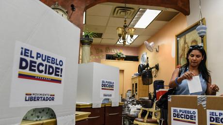 النتائج الأولية لاستفتاء فنزويلا تظهر رفض الشعب لمطالب مادورو